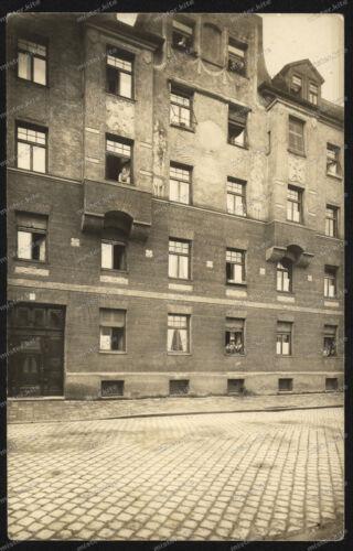 Foto-AK-Stuttgart-Innenstadt-Gebäude-Architektur-Fassade-Geschäfts-Wohnhaus