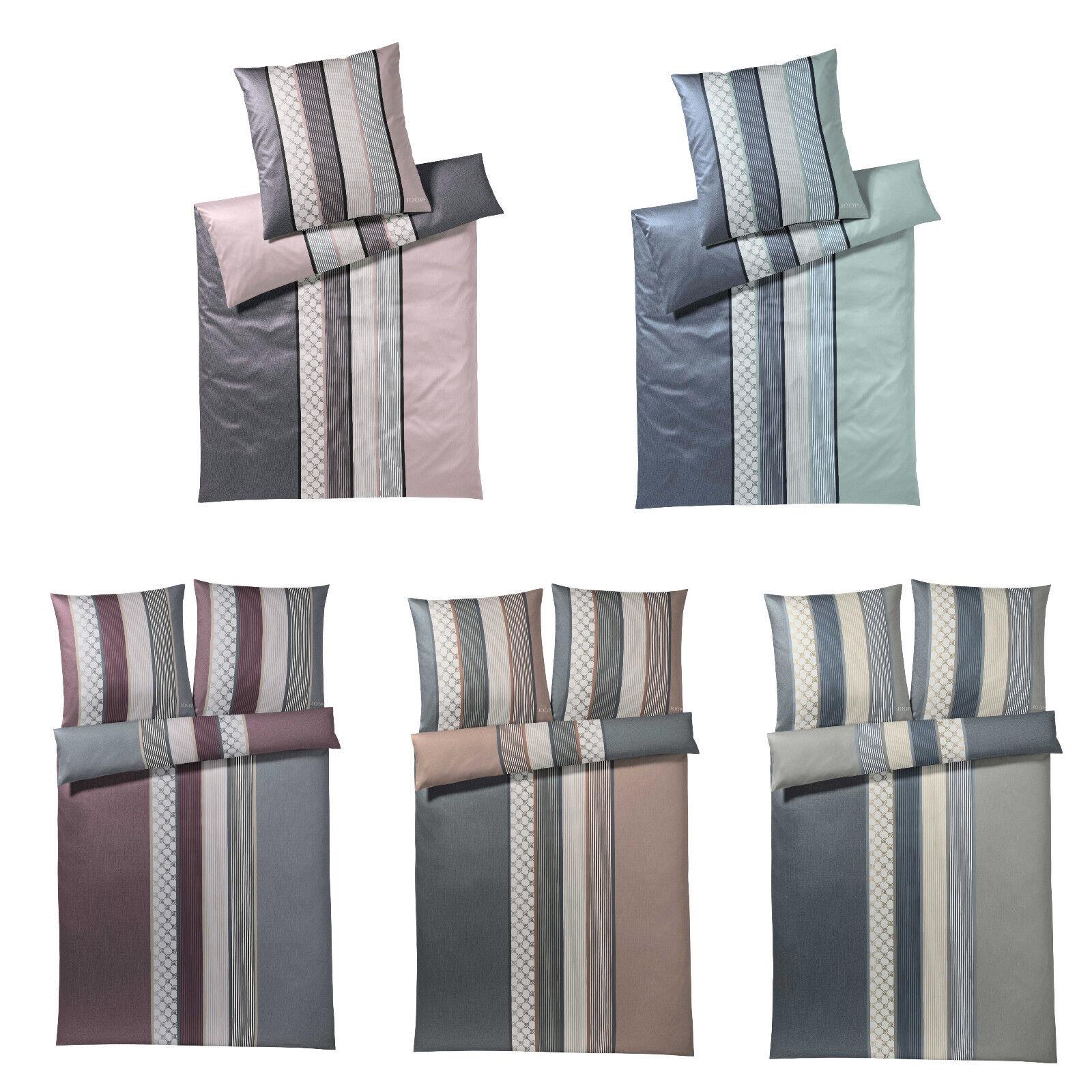 JOOP  Bettwäsche Cornflower Stripes 4069 Farbe & Größe wählbar + gratis Handtuch