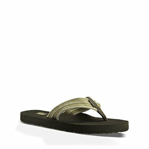 Pick SZ//Color. Teva Mens Mush II CanvasFlip Flop