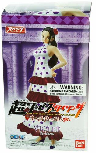 Super Styling Figure Violet Viola Bandai Ships from NJ One Piece