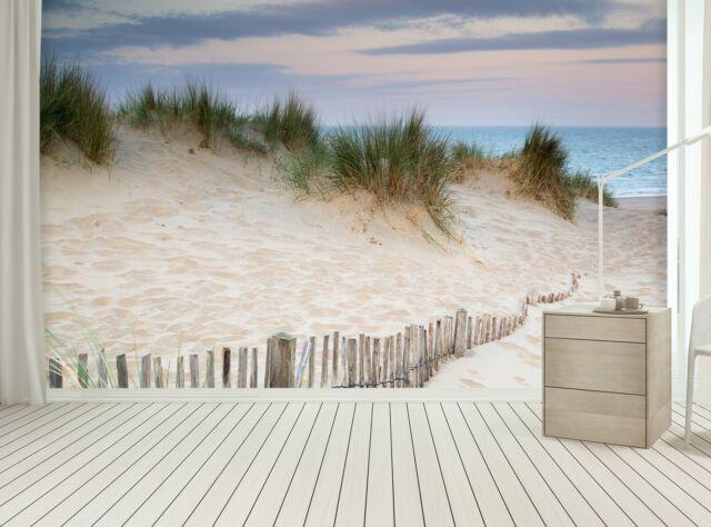 Beach Coastal Sand Sea Wall Mural Photo Wallpaper BC-WM