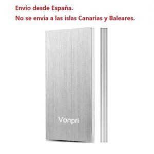 10000mAh Batería Externa Cargador Portátil Recargable USB Móvil Power Bank...
