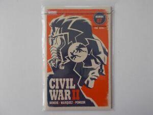 Civil était Ii # 8 - (variant Cover, Limitée à 555) 2017 Marvel, Bande Dessinée. Par 0-1-afficher Le Titre D'origine