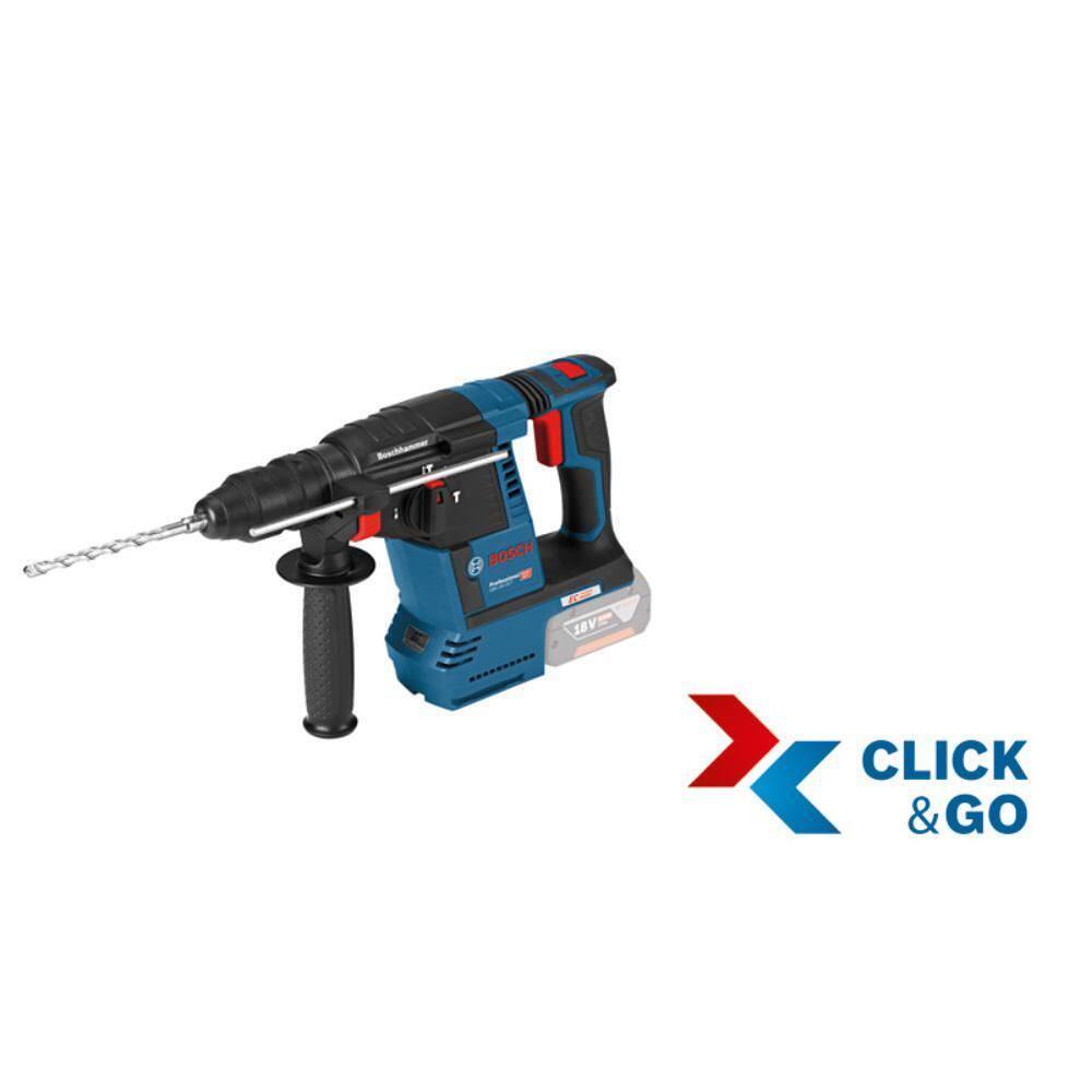 BOSCH Akku-Schlagbohrhammer GBH 18 V-26 ( ohne Akku ohneLadegerät ) L-Boxx