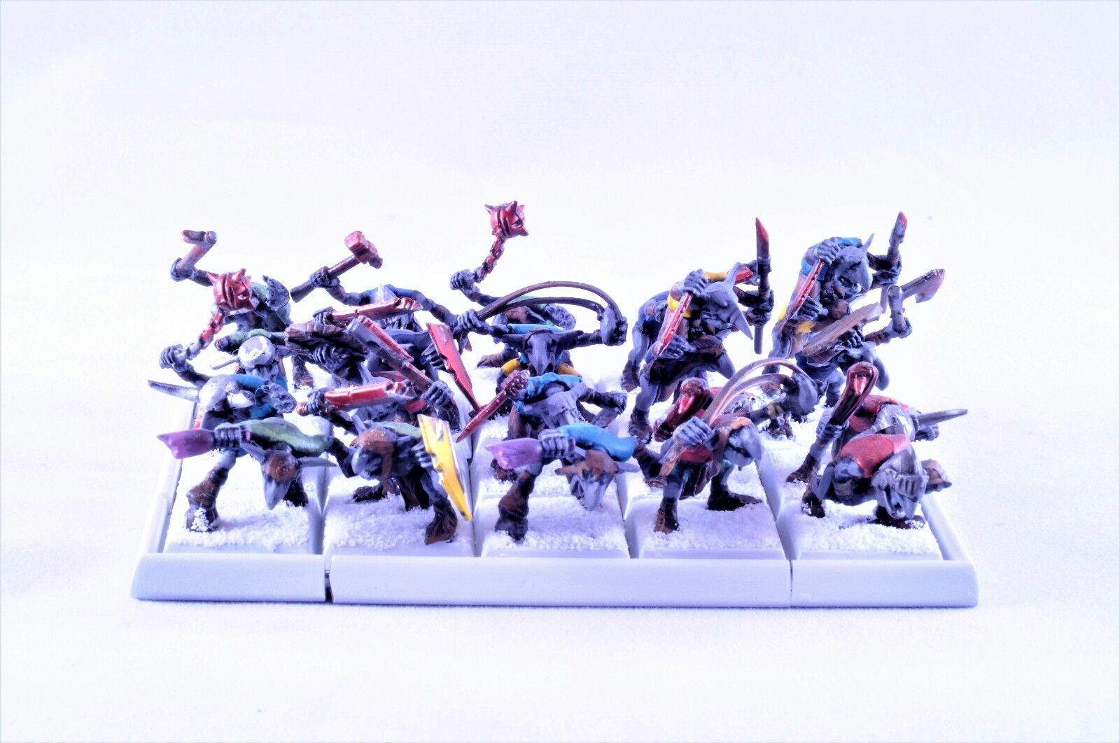Age of of of Sigmar Ogre Greds Gnoblars well painted 72d686