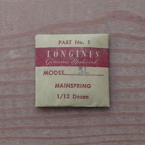 New-Longines-Genuine-Swiss-Cal-5L-Watch-Mainspring-Part-Watchmakers-G6D15