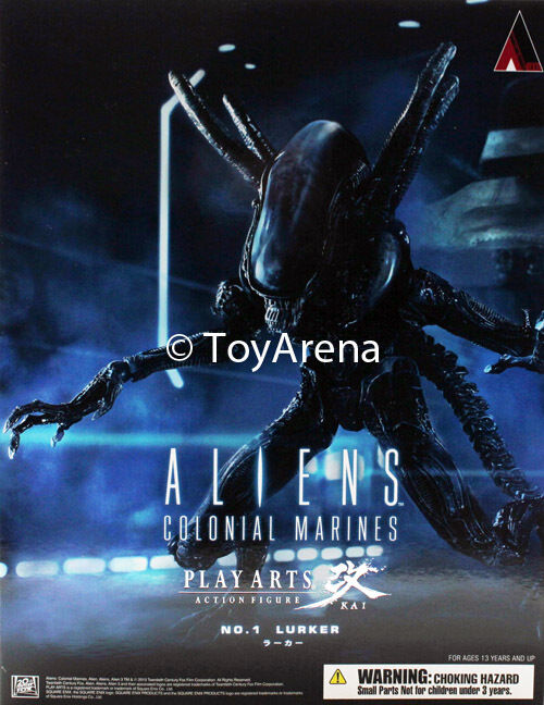 Aliens Colonial Marines No 1 Lurker Play Arts Kai Action Figure Square Enix