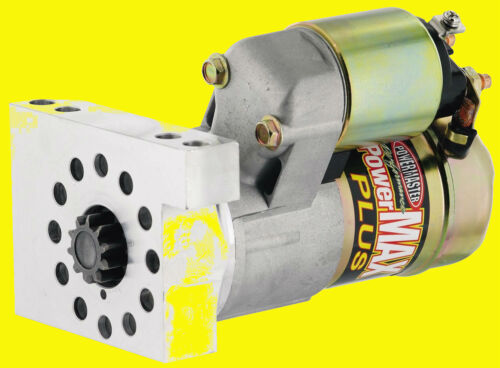Powermaster 9100 SBC BBC GM Chevy Mini Starter Gear Reduction Powermax Plus