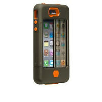 Case-Mate CM016802 Tank Case for the Apple iPhone 4 and 4s - Military Green/Orange Cellular Accessories