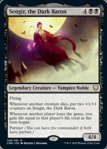 Sengir NM MtG the Dark Baron x4x Commander Legends CMR