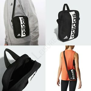 ADIDAS-Mini-Travel-Bag-Shoulder-Organiser-Pouch-Sports-Gym-Training-Carry-Flight