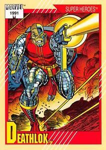 DEATHLOK-Marvel-Universe-Series-2-Impel-1991-BASE-Trading-Card-16