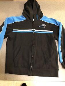 Carolina Panthers NFL Team Apparel Full Zip Hoodie Youth XL | eBay