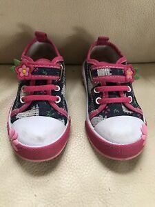 Kenka Girls Shoes Sneakers Keds Denim