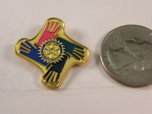 ROTARY INTERNATIONAL PIN STYLE #1