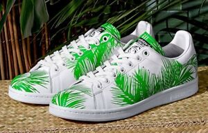 quality design 44ebe d3815 Details about Adidas Stan Smith bbc palm tree pharrell Williams billionaire  boys club green