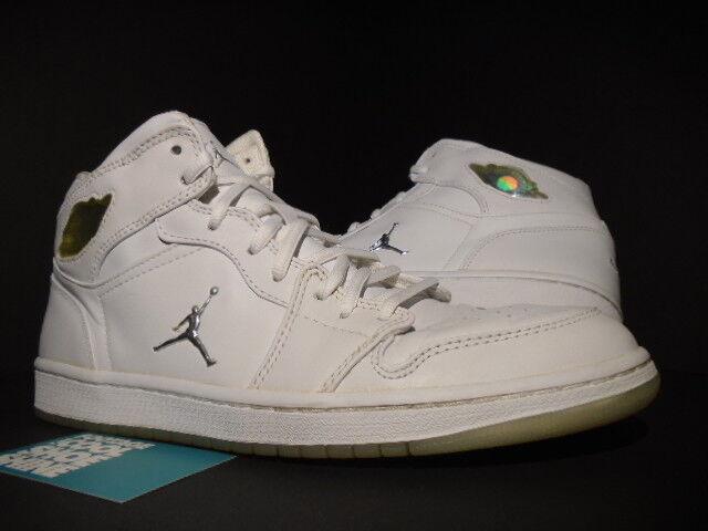 2018 Nike Air Jordan I Retro 1 PLATINUM WHITE SILVER COOL GREY OG 306000-101 11 Cheap and beautiful fashion