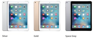 Apple iPad Air 2 Retina Display Tablet 16/32/64GB WiFi/Cellular Grey/Gold/Silver
