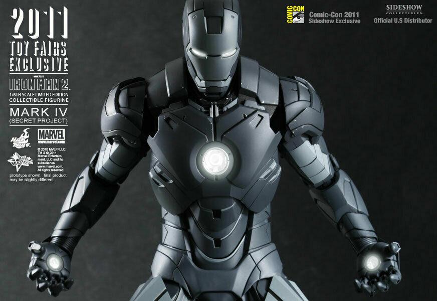 Sideshow Sdcc Esclasivo MS153 Iron Man Segreto Project hed legetøjs 1/6 Figua