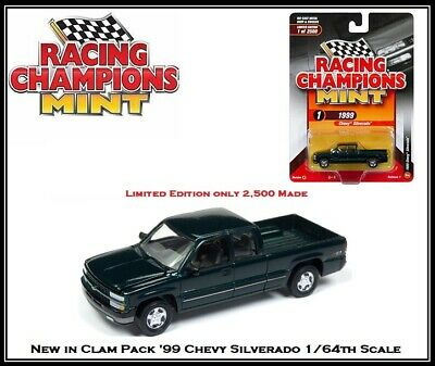 Racing Champions New 1//64th Die Cast Car /'99 Chevy Silverado From Auto World