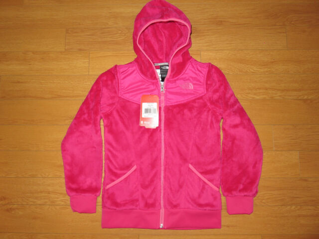 99264b0e6473 The North Face Youth Girls Oso Hoodie Fleece Jacket Cabaret Pink XL ...
