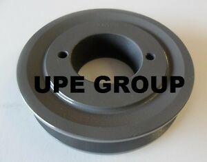 Cast Iron pulley SHEAVE 5.45 for motor 2 groove for B /& 5L 5//8 belts