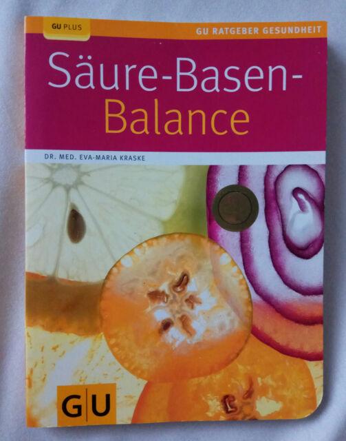 GU Plus Säure-Basen-Balance Eva-Maria Kraske,wie neu, 9783833817762