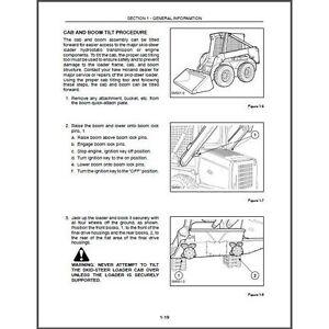 new holland l565 lx565 lx665 skid steer loader service manual cd rh ebay com New Holland LX865 Manual New Holland LX665 Engine