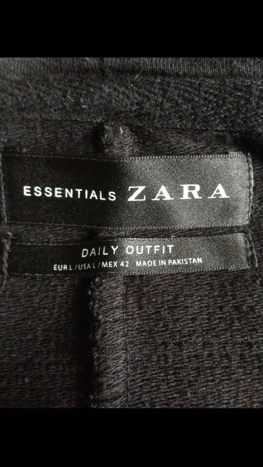 Hættetrøje, Zara essent. , str. XL