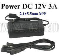 Ac Adapter Input Ac100-240 50/60hz 0.8 Output Dc12v 3a