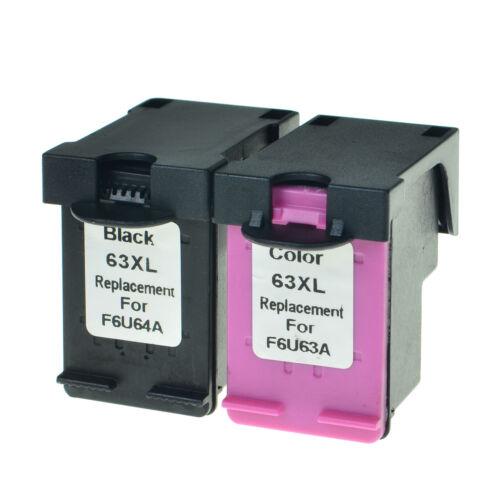 63-XL 63XL Black Color Ink Cartridge Set For HP OfficeJet 4650 4655 5255 5258