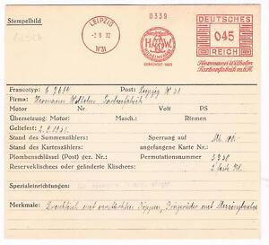 Germane-1932-AFS-Leipzig-Unikat-fuer-die-grosse-Sammlung-Archivkarte