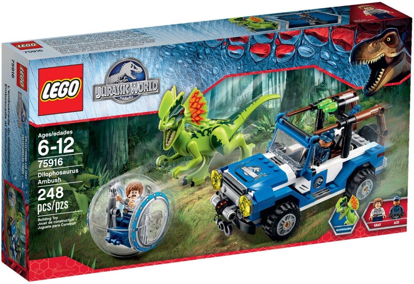 Lego Jurassic World 75916 Bon embuscade EntièreHommest NEUF  dans sa boîte ✔ Nouveau ✔ Scellé ✔ Fast p&p ✔  le réseau le plus bas
