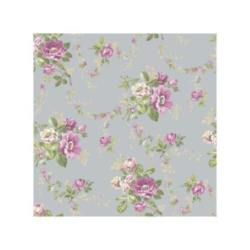 AK7400BloomsYork WallpaperWallpaper 33 foot roll X 20.5 inches !!
