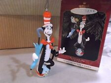 VINTAGE  HALLMARK  1999  KEEPSAKE ORNAMENT  THE CAT IN THE HAT   NEW IN BOX