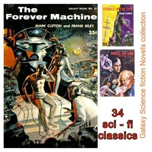 Galaxy Science Fiction Novel Collection - 34 eBooks - pulp fiction