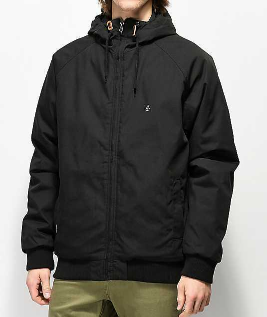 Volcom Mens Hernan Heavy Weight Hooded Jacket