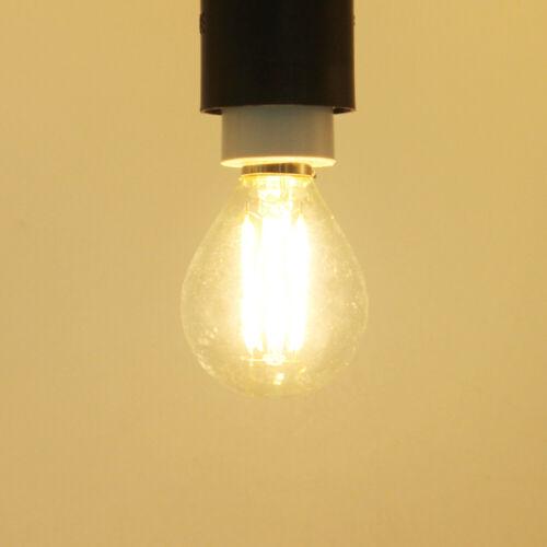 Retro LED G45 Filament Bulb E27 2W 4W 6W Edison Warm White Home Lighting Lamp RK