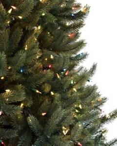 Image Is Loading Artificial Vermont White Spruce Fake Christmas Tree Unlit