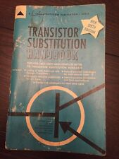 Transistor Substitution Handbook 1965 Photofact Publication-6th edition
