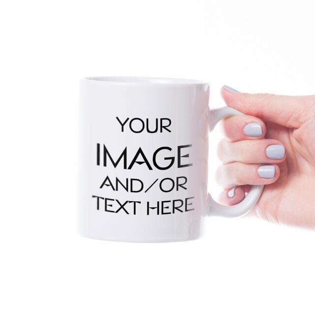 Personalized Custom Print Coffee Mug, Image Photo Logo Design Gift Ceramic Cup
