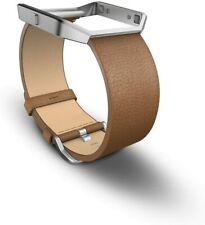 Details about  /Genuine Fitbit Alta Leather Accessory Band Wristband Camel Large!