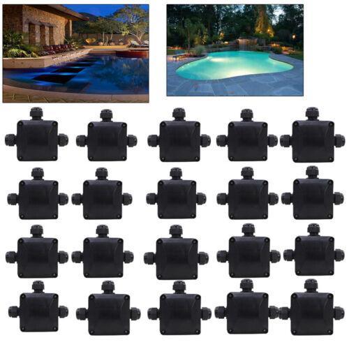 1-20X Wasserdichte Abzweigdose Klemmleiste Verbindungsdose Verteilerdose