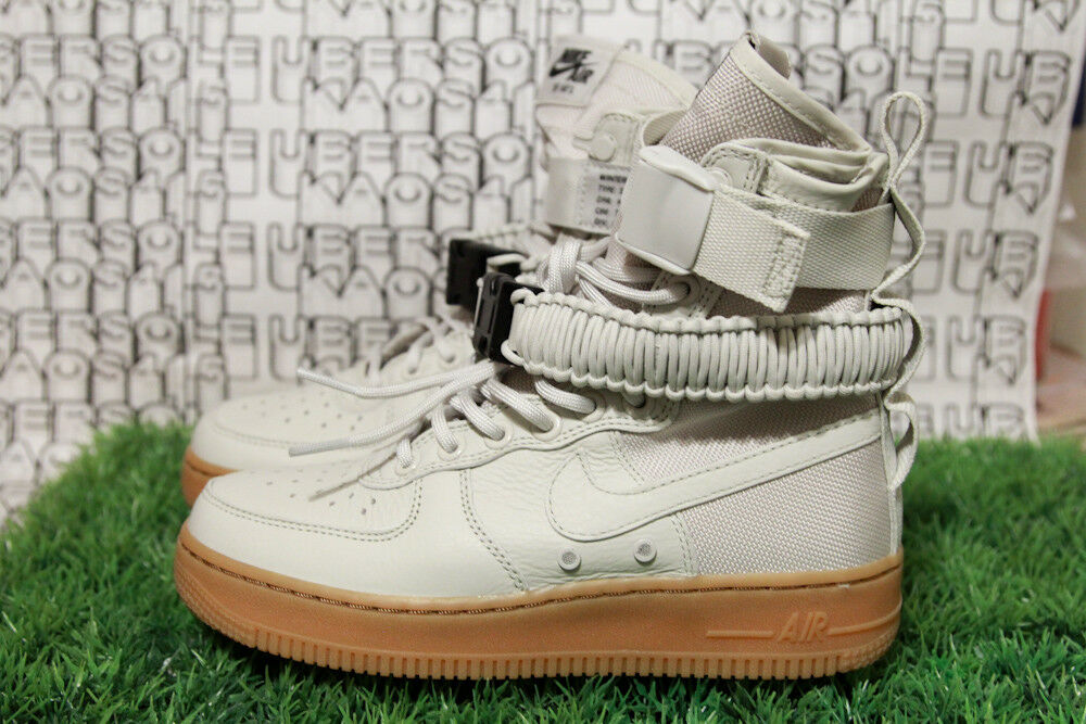Nike sf af1 luce osso nero bianco alto air force 1 stivali 857872 004 wmn 5,5