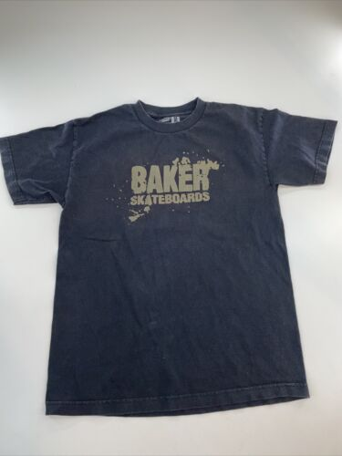 Baker Skateboards T-shirt Mens Size Medium Black 1