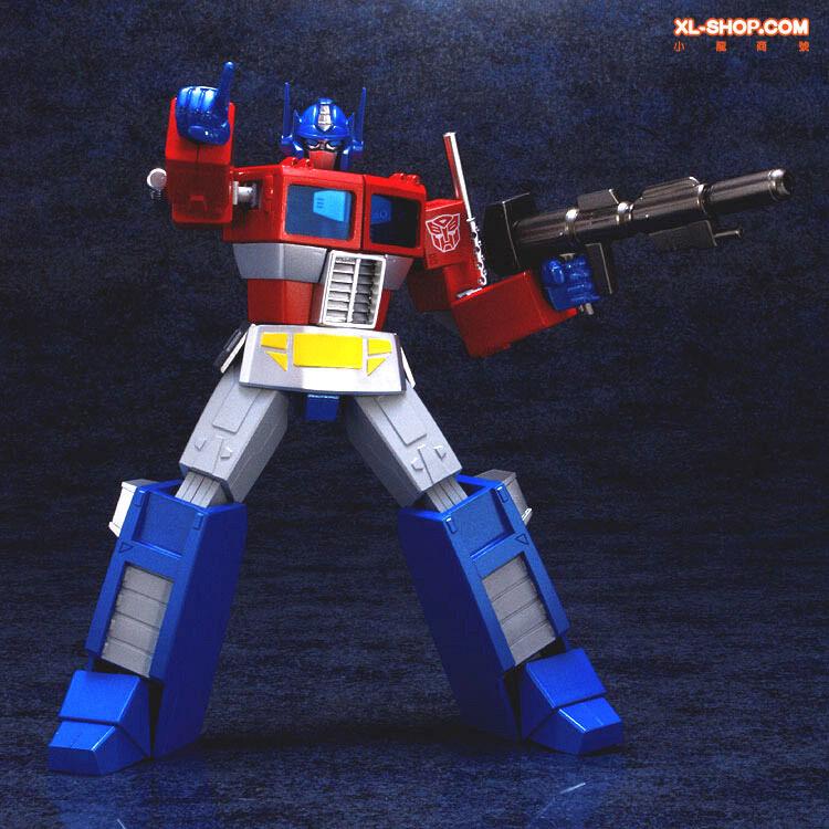 Cybertron Commander Optimus Prime Ex Gohkin Figure by Fewture