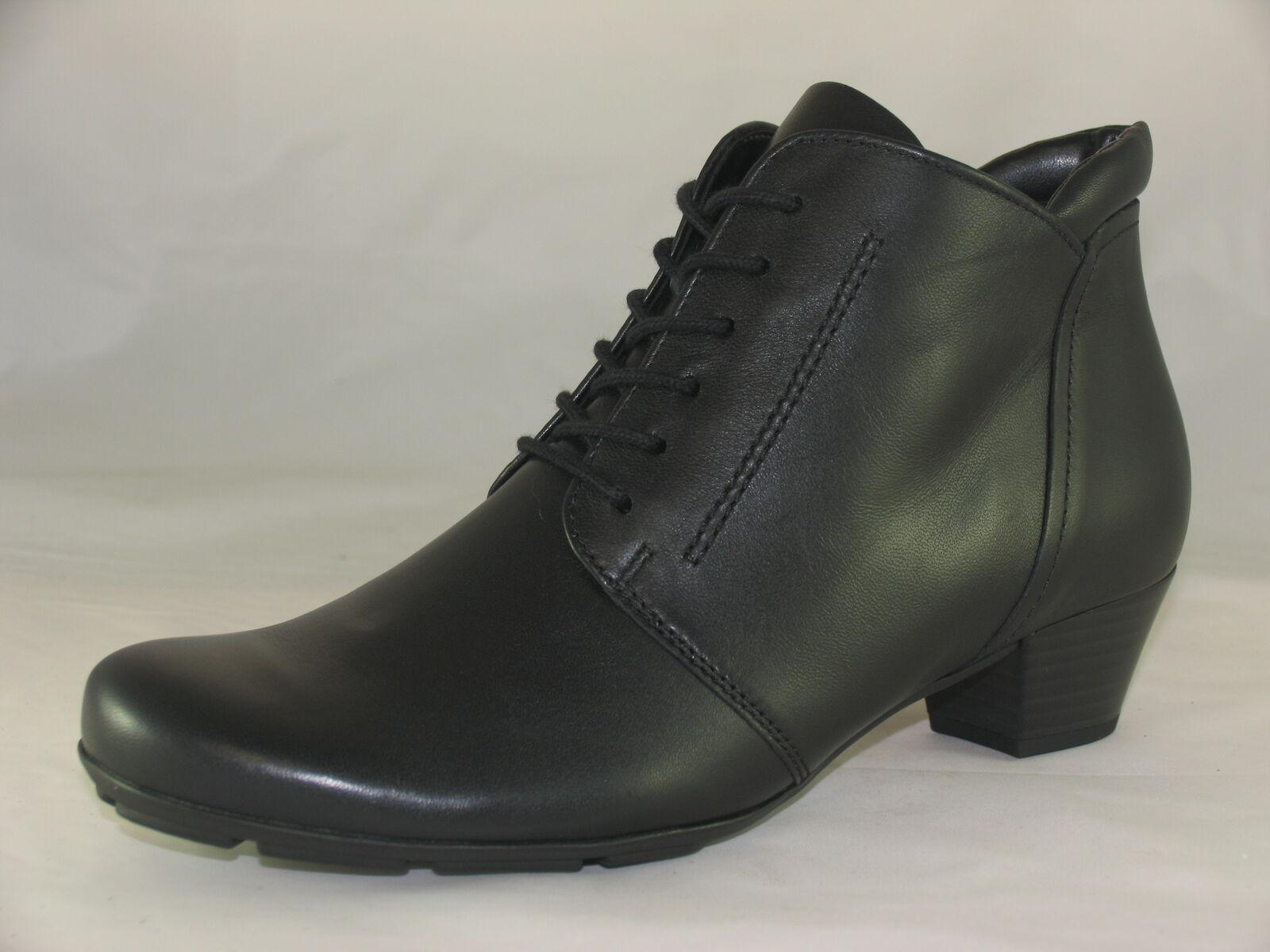 Women's Gabor 75.631 Black Ankle Boots