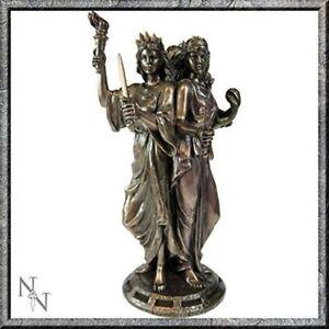 ecate statua  Dettagli su DEA GRECA TRIPLICE DEA magia wicca pagan Triple FIGURINA Ecate  Statua- mostra il titolo originale
