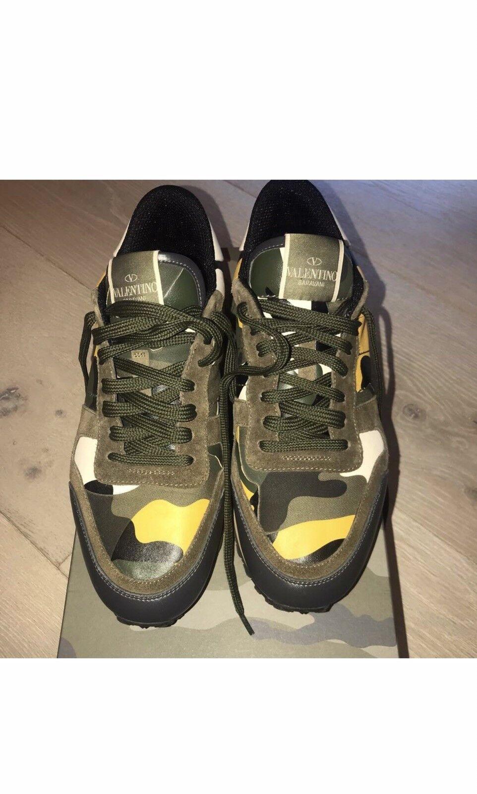 Valentino Garavani Camo Sneakers Mens