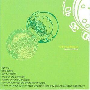 FREE US SHIP. on ANY 3+ CDs! USED,MINT CD : Mark Applebaum: Sock Monkey